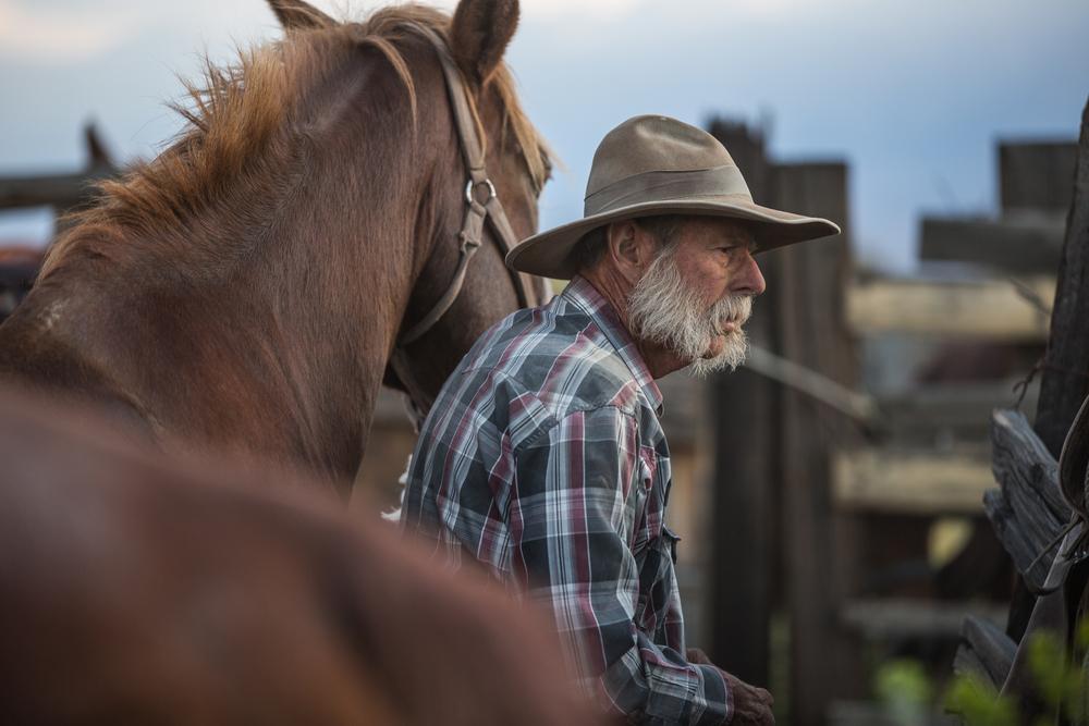 Icone western in Wyoming e Montana mountain men