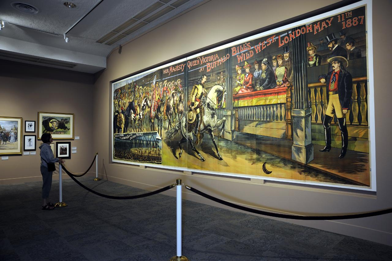 Icone western in Wyoming e Montana Buffalo Bill
