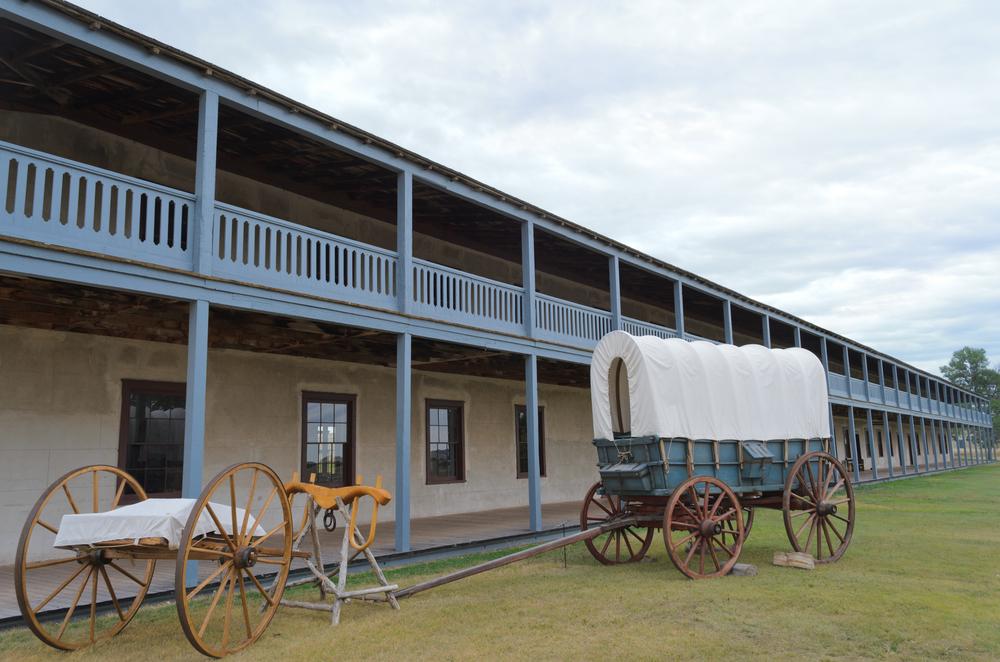 Icone western in Wyoming e Montana Fort Laramie sito