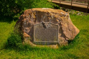 Icone western in Wyoming e Montana fur trader