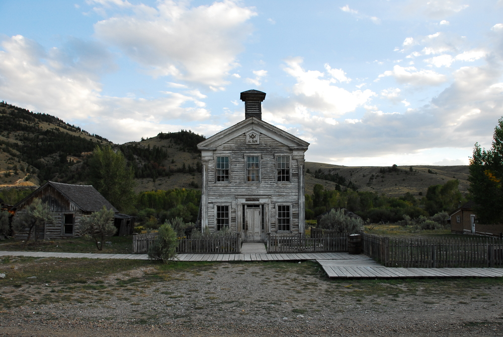 Icone western in Wyoming e Montana gold rush