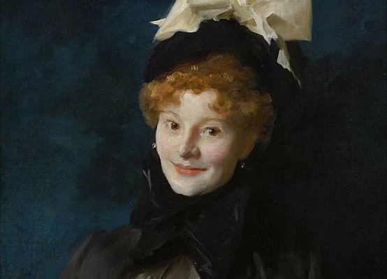 John Singer Sargent, Madame Escudier, 1883 circa. Olio su tela, 73 x 59.7 cm. © The Clark Art Institute.