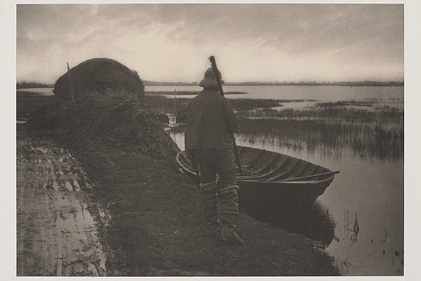 Peter Henry Emerson, Palude di Norfolk. Stampa al platino, 20.2 × 30.3 cm. © The Clark Art Institute.