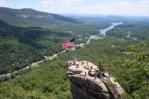 Viaggio lungo la Blue Ridge Parkway viaggio in USA