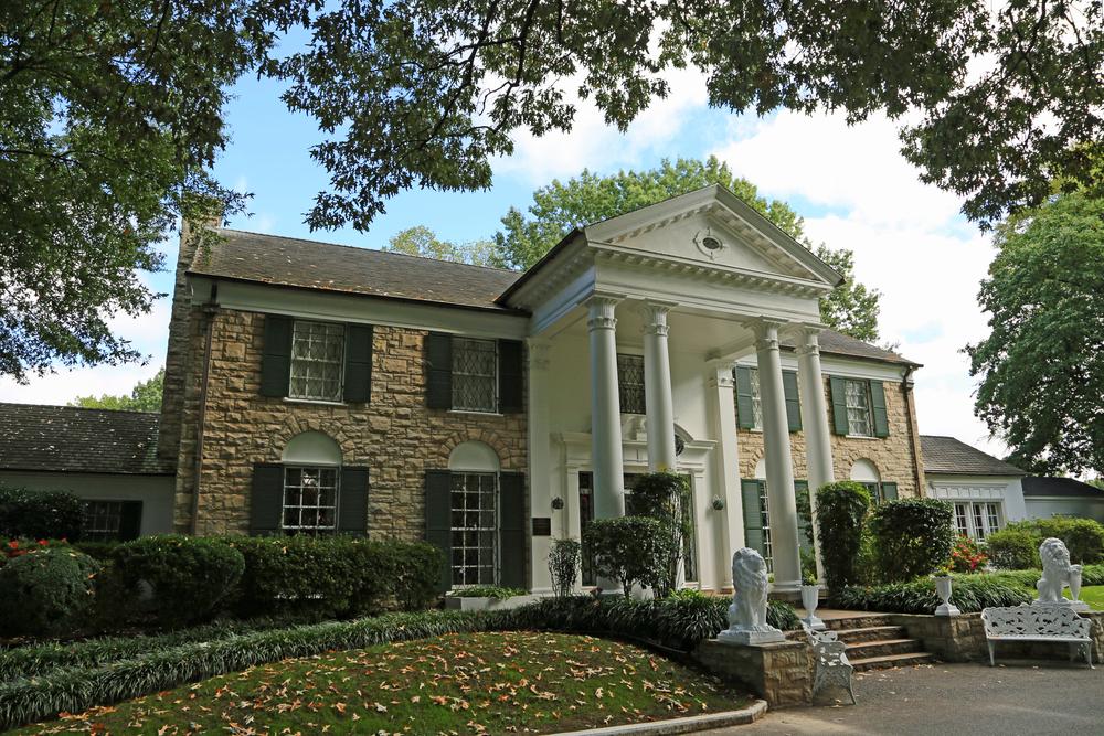 Case da star negli USA: Graceland, la sfarzosa tenuta di Elvis a Memphis