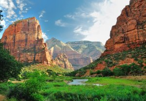 viaggio running West USA: Zion National Park