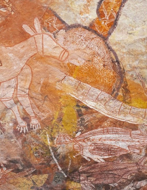L'arte rupestre degli aborigeni australiani: Kakadu National Park
