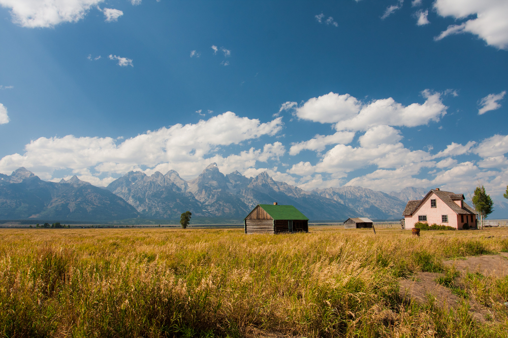 I ranch delle Rocky Mountains - Mormon Row
