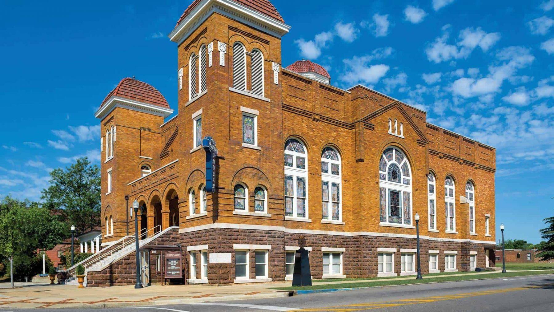 16th Street Baptist Curch di Birmingham U.S. Civil Rights Trail