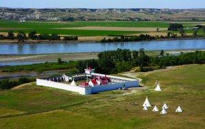 i luoghi di Lewis e Clark Fort Union