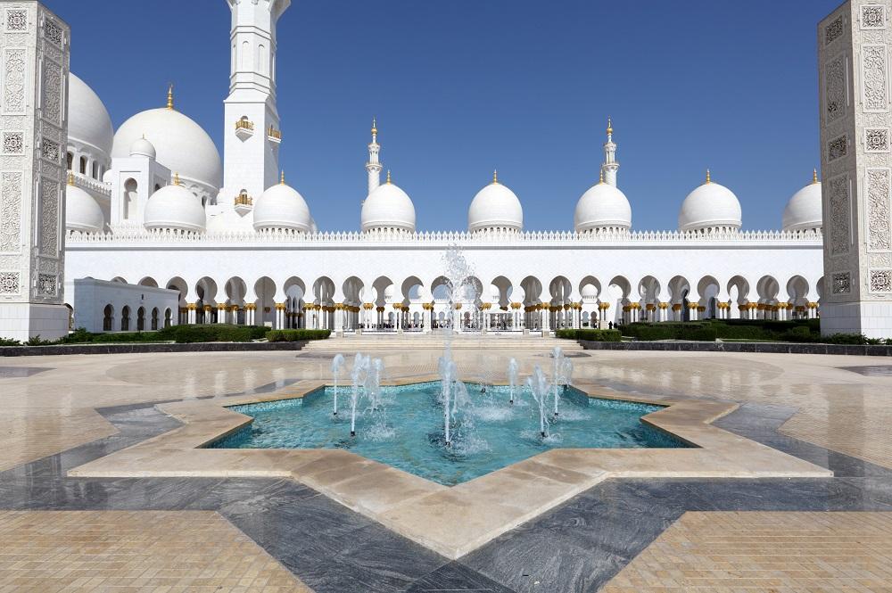 Cosa fare in un weekend ad Abu Dhabi Gran Moschea dello Sceicco Zayed