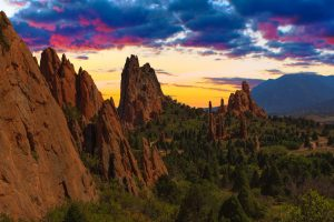 Viaggio Denver e Colorado Garden of the GOds