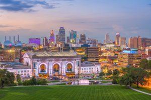 Viaggio in USA Kansas City, Missouri, USA Skyline