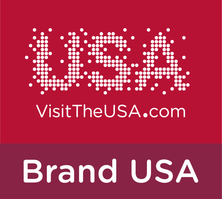 Visit the USA rosso