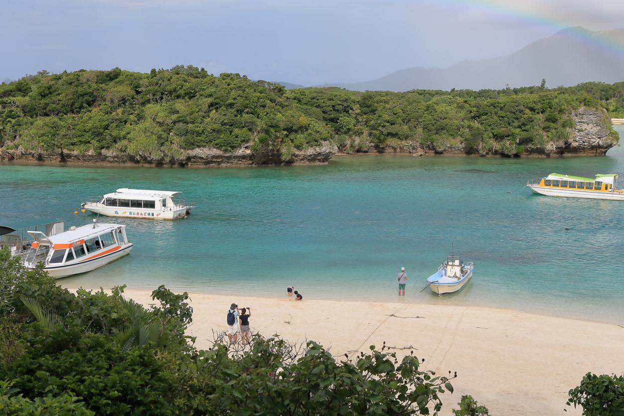 Viaggio a Okinawa Spiagge