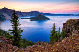 Crater Lake Washington viaggio
