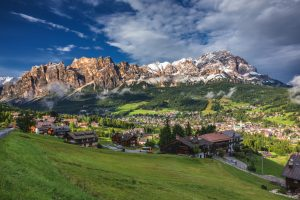 viaggio Cortina week end Dolomiti