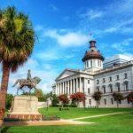 South Carolina State House Columbia viaggio negli USA del Sud