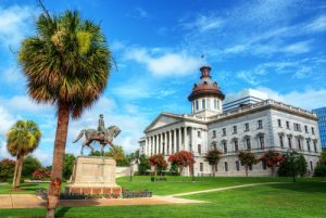 South Carolina State House Columbia viaggio negli USA del Sud