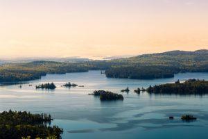 Squam Lake New Hampshire viaggio New England