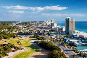 Panama Beach City Florida Viaggio USA