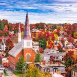 Montpelier Vermont Viaggio in USA