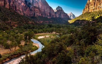 Kayenta Trail, Zion National Park, Utah, United States of America