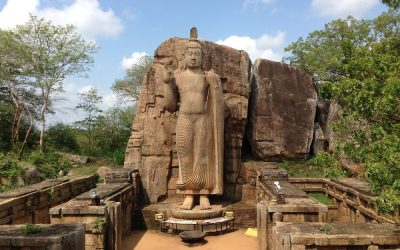Viaggio Ceylon archeologia