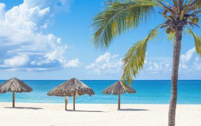 A stock photo of Curaçao. Curaçao is a Dutch Caribbean island.
