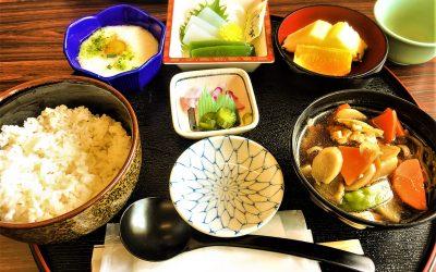 japanese food, set menu local food.