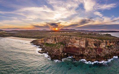 Bonny Hills, Port Macquarie Panoramic dusk.