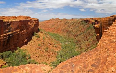 The famous Kings Canyon in the The Red Centre of Australia (Northern Territory)