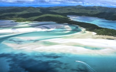 Whitehaven Beach, Whitsunday Island, Whitsunday Islands, Australia, East Coast, Queensland, Non-Urban, Coastline, Scenics, Scenics