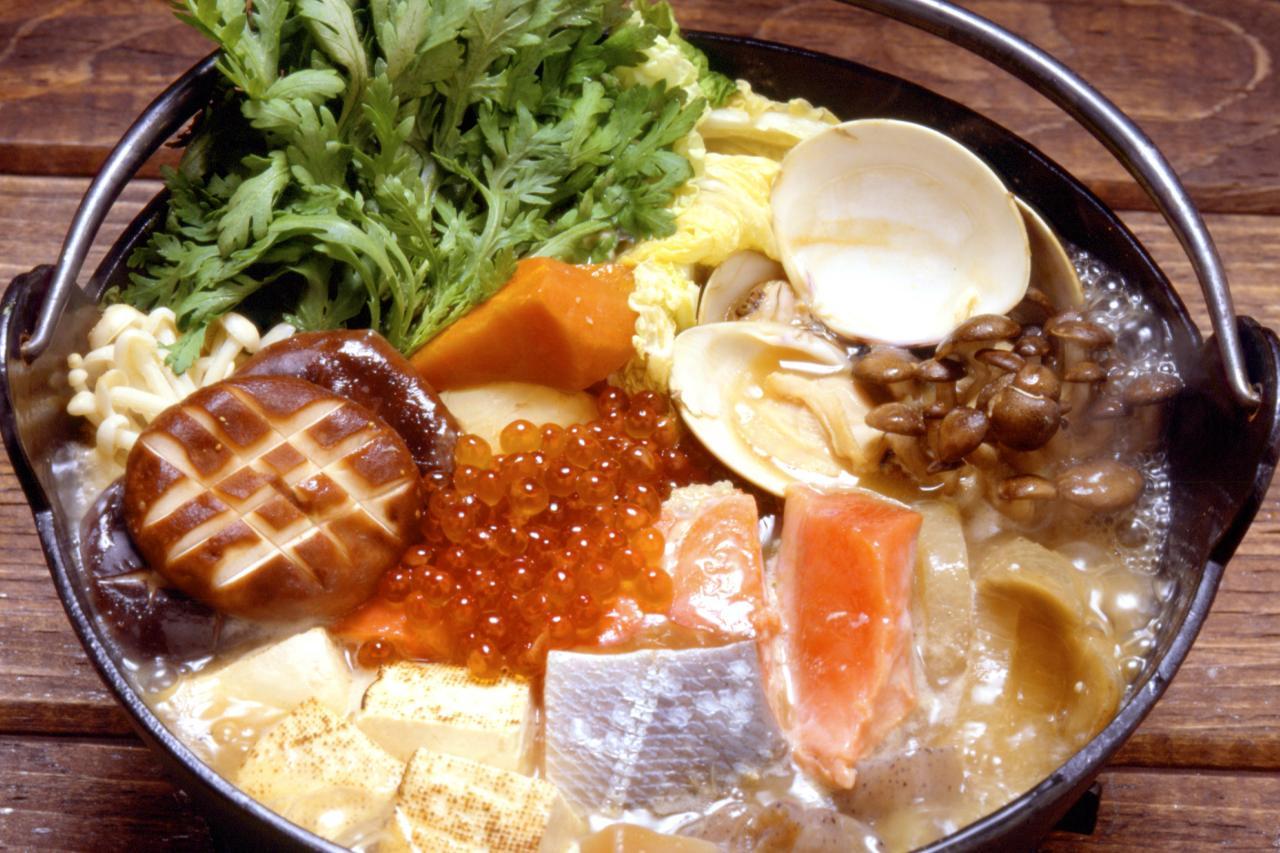La zuppa Ishikari Nabe