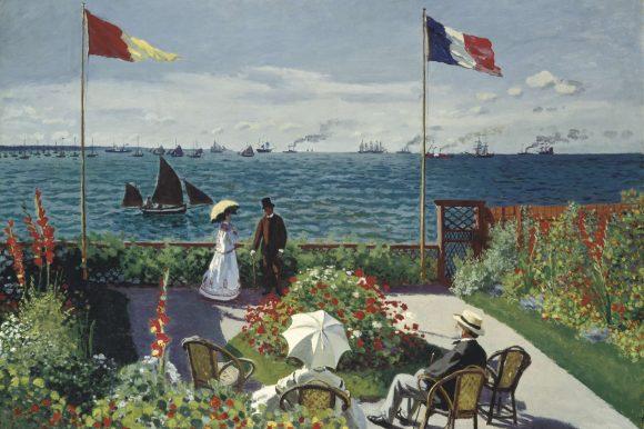 A New York con Claude Monet
