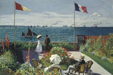A New York con Claude Monet