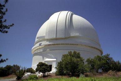Tour della California astronomica