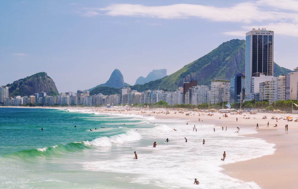 Speciale Olimpiadi America Rio 2016 Copacabana