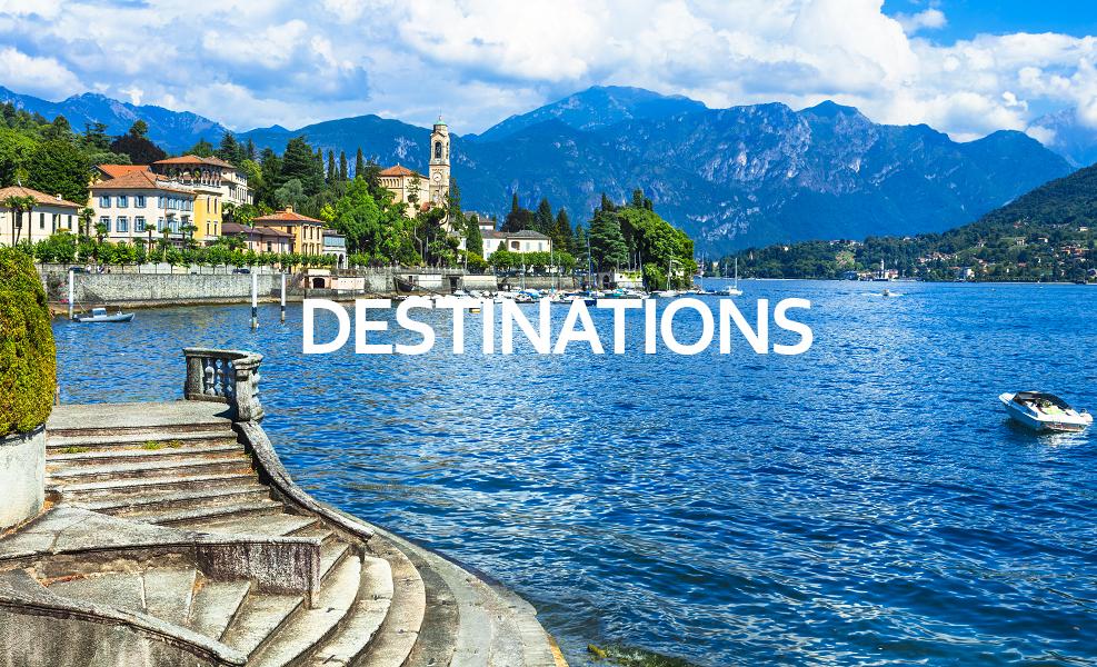 Italia destinations