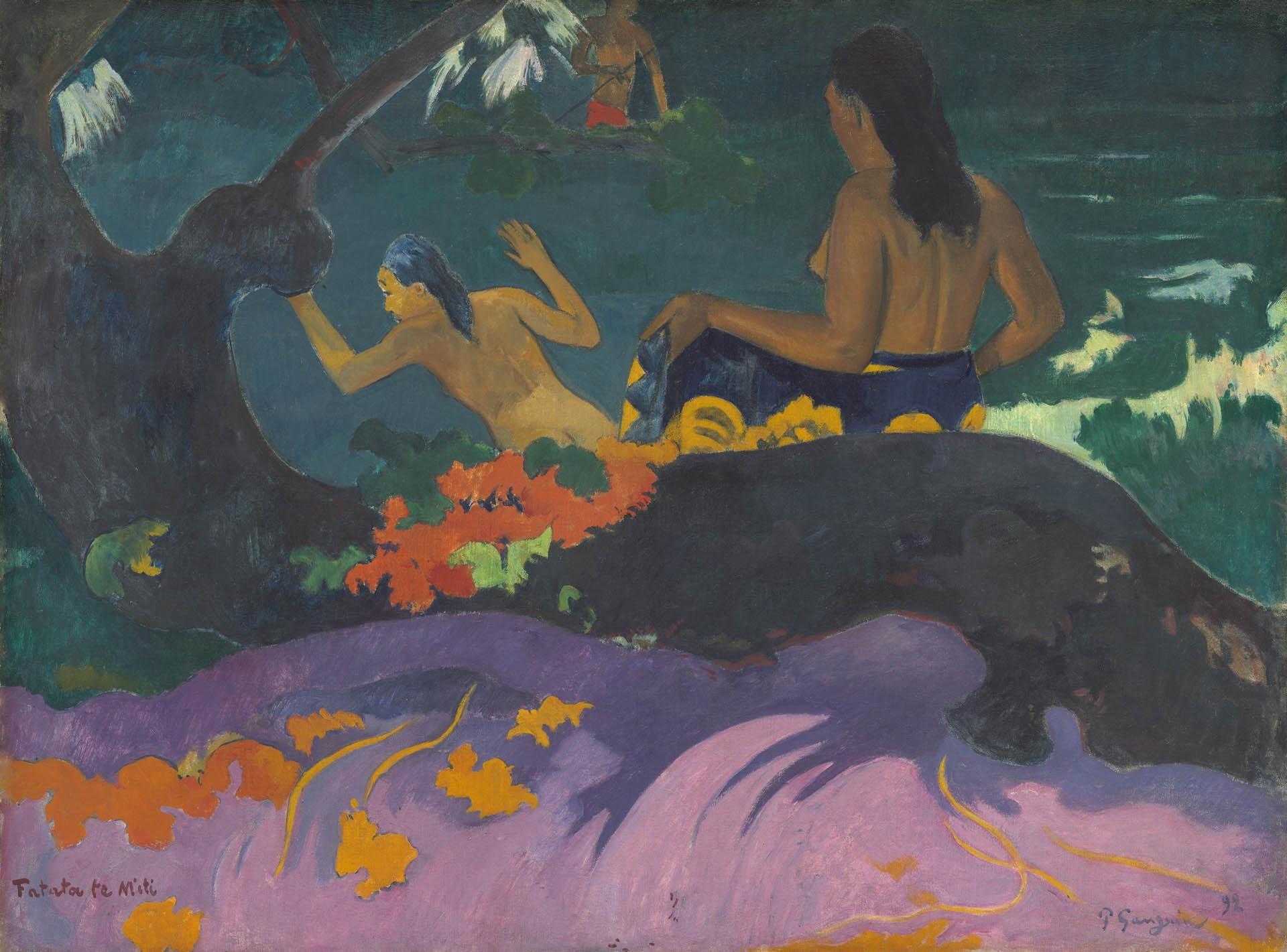 in-riva-al-mare-gauguin