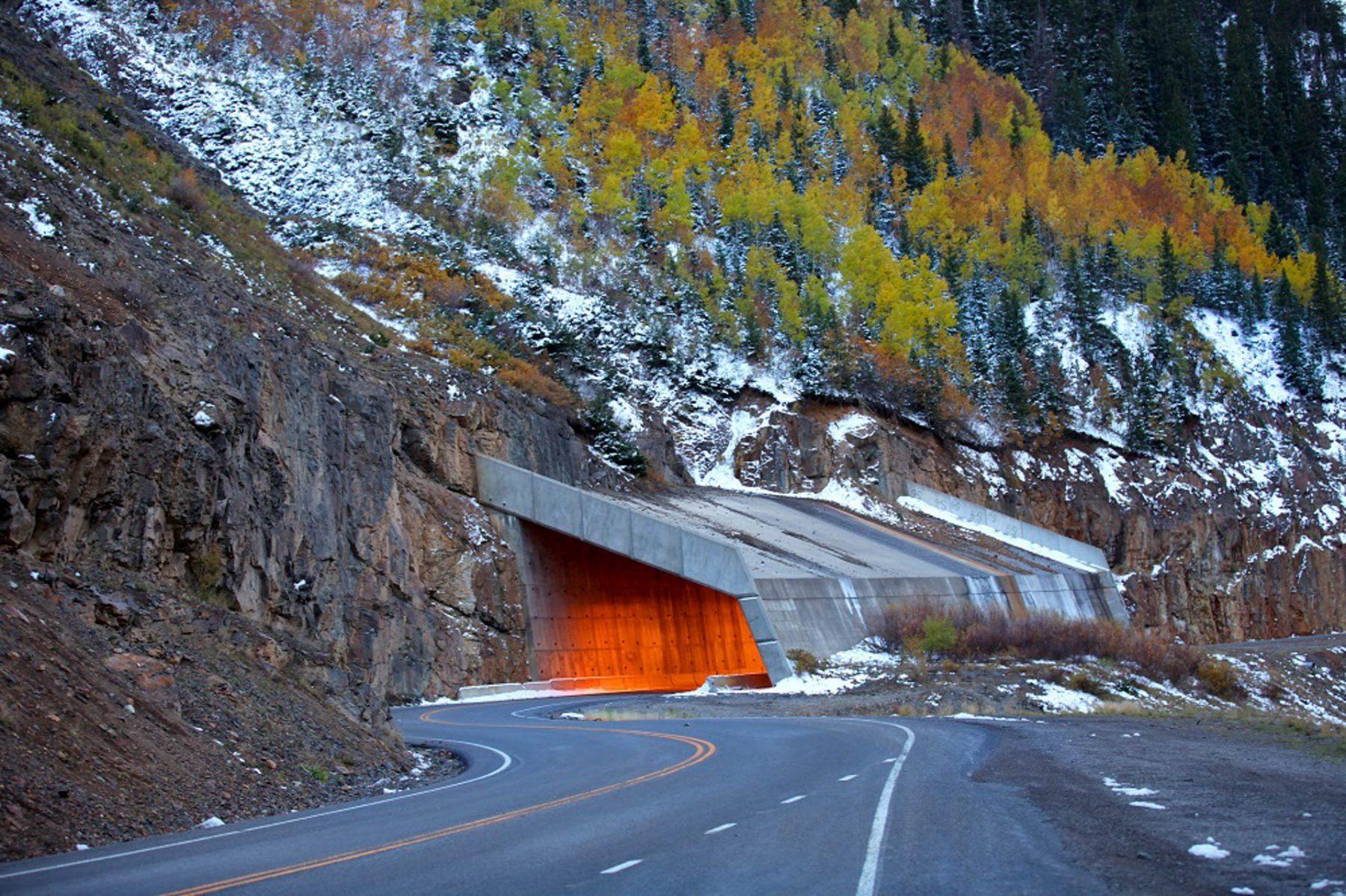 Usa strade panoramiche colorado million dollar
