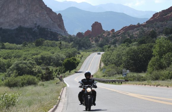 Viaggio in moto nelle Colorado Rocky Mountains