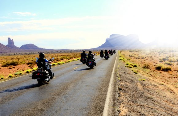 Tour in moto Far West USA