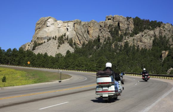 In moto sulle South Dakota Black Hills