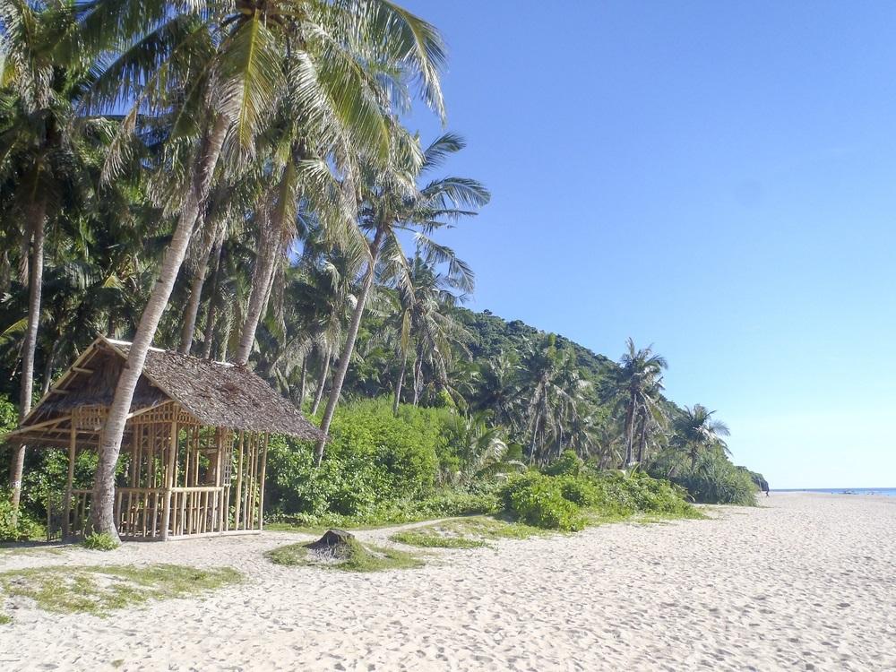 La spiaggia di Puka, Boracay, FilippineLa spiaggia di Puka, Boracay, Filippine