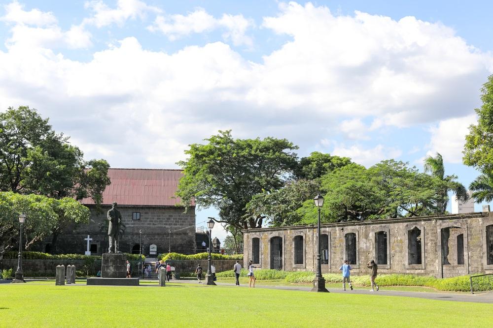 Il parco del Forte Santiago di Manila, Filippine