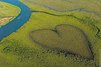 Viaggio di nozze in nuova caledonia. Il Coeur de Voh, l'incredibile simbolo della Nuova Caledonia