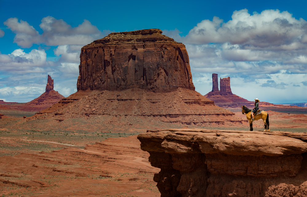 Film western monument valley