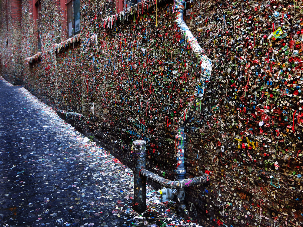 Grunge Seattle Gum Wall
