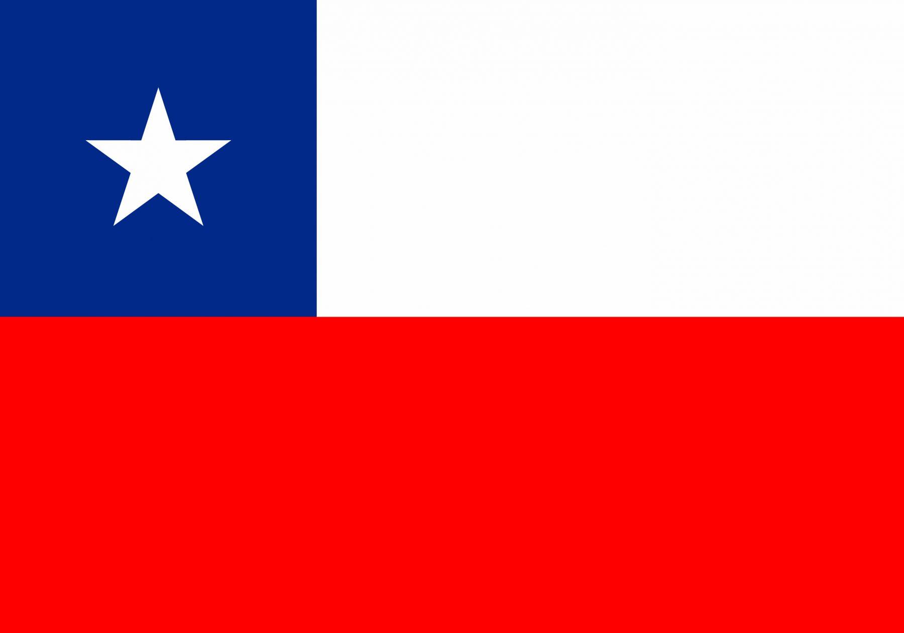 Viaggio in Cile Bandiera